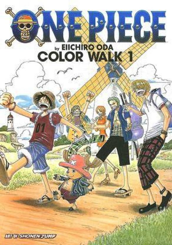 One Piece Color Walk Art Book: The Art of Shonen Jump: Opcw( Volume 0 )( Series - The Art of Shonen Jump: Opcw )