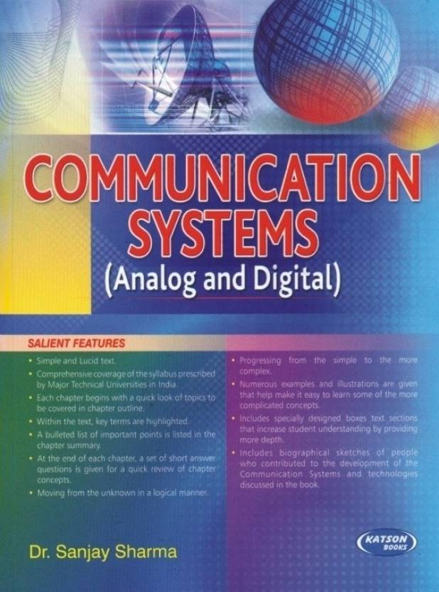 Communication systems analog and digital buy communication communication systems analog and digital fandeluxe Gallery