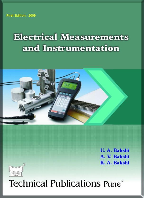 ELECTRICAL MEASUREMENTS BY BAKSHI EPUB