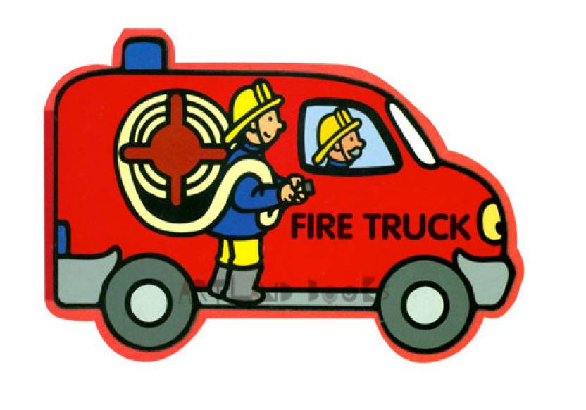 My Favourite Car Block Books -Foam -Fire Engine: Buy My