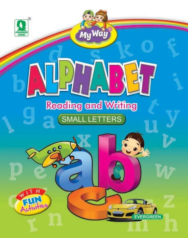 My Way Alphabet - Small Letters: Buy My Way Alphabet - Small