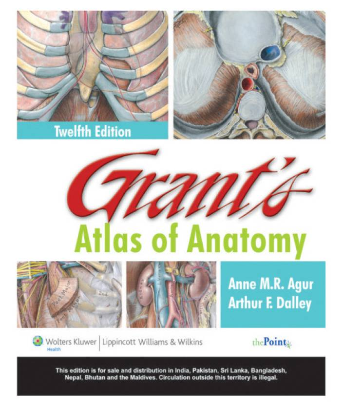 Grants Atlas Of Anatomy With The Point Access Scratch Code 12th