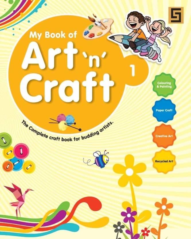 My Art N Craft Book 1 Buy My Art N Craft Book 1 By Golden Sapphire