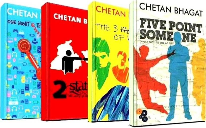 Chetan Bhagat Combo Of 4 Books