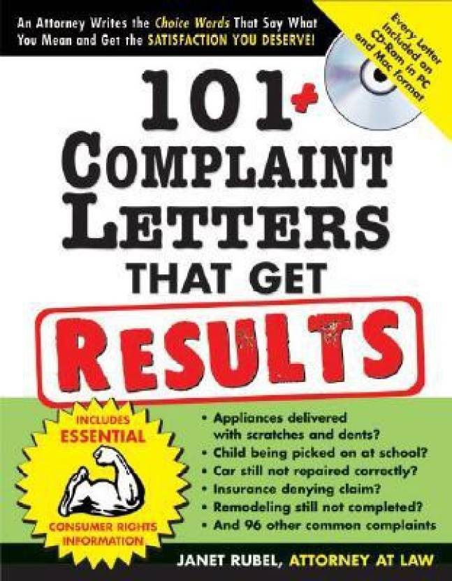 101 Complaint Letters That Get Results 2e Resolve Common Disputes Quickly And Easily