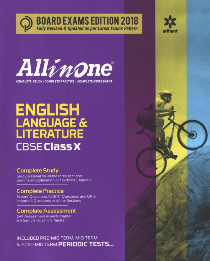 All in one English Language Literature Class 10 (2017-18