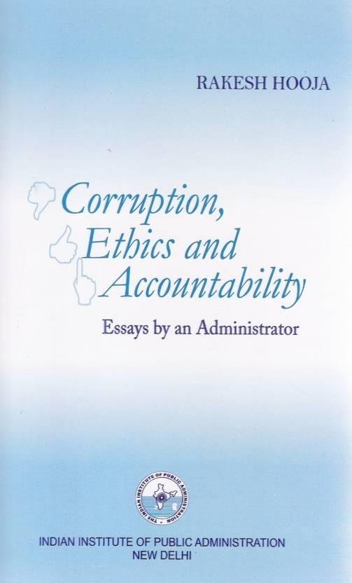 english essays corruption india