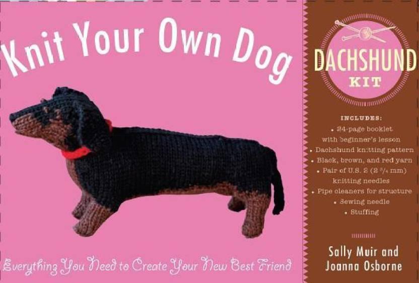 Knit Your Own Dog Dachshund Kit Buy Knit Your Own Dog Dachshund