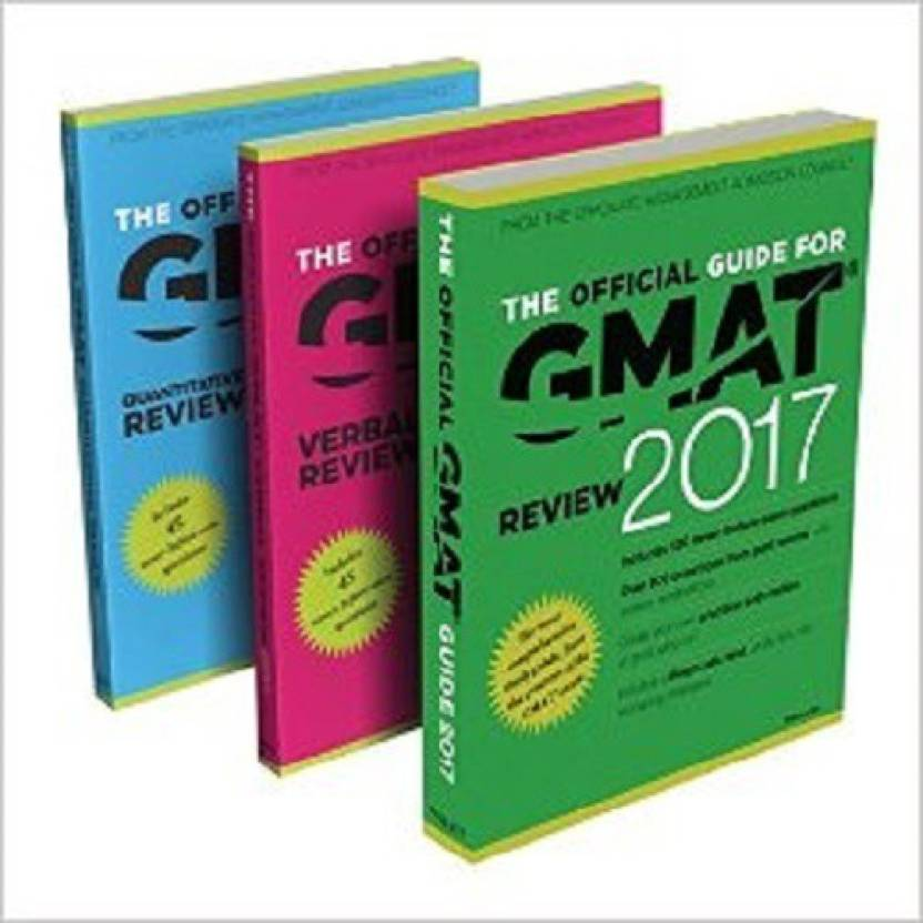 The Official Guide to the GMAT Review 2017 Bundle + Question Bank + Video Paperback