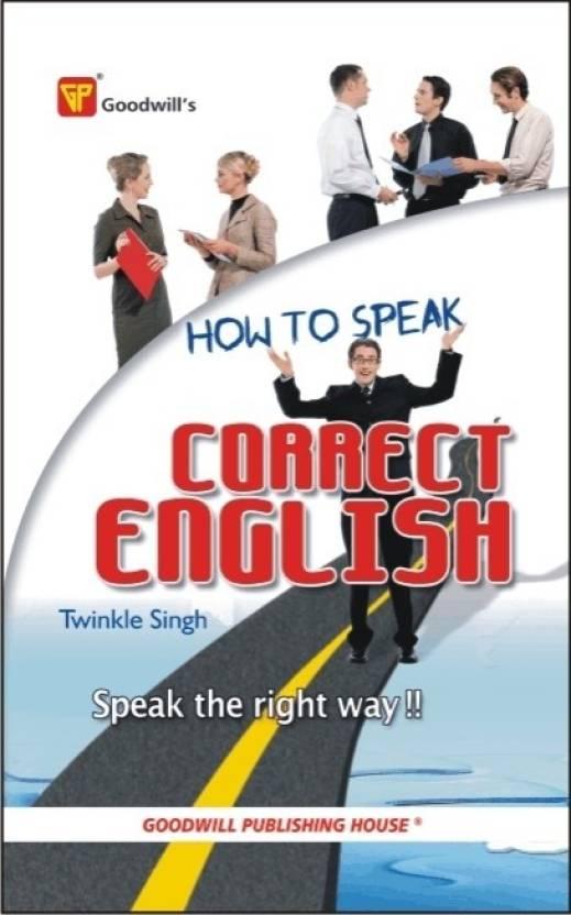 HOW TO SPEAK CORRECT ENGLISH G-364
