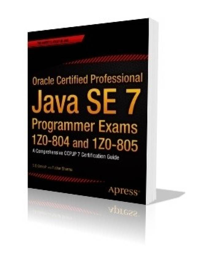 Oracle Certified Professional Java Se7 Programmer Exams 1z0 Buy