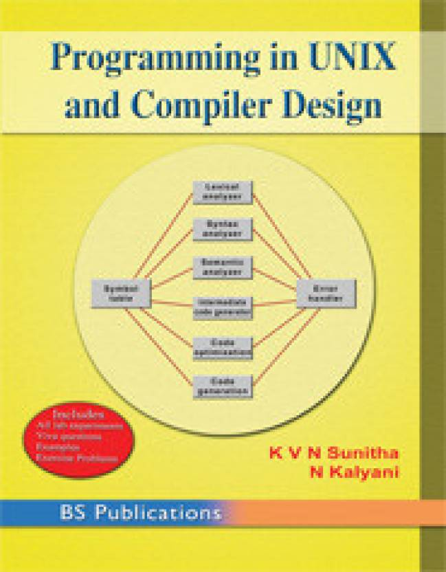 Programming In Unix And Compiler Design: Buy Programming In