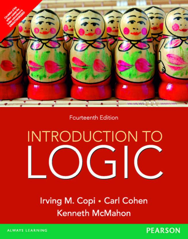 Introduction To Logic 14 Edition 14th Edition Buy Introduction To
