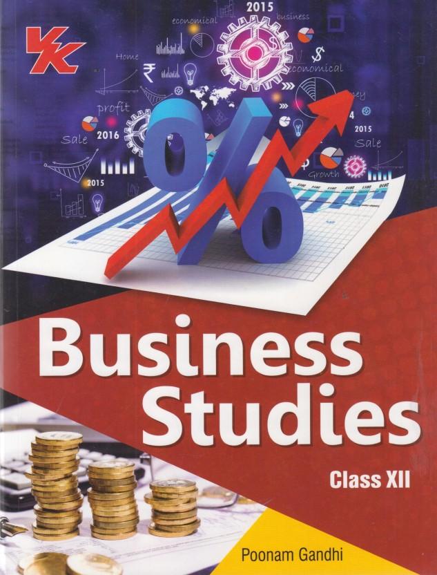 Business Studies Book By Poonam Gandhi