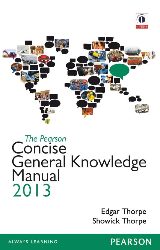 The Pearson Concise General Knowledge Manual 2013