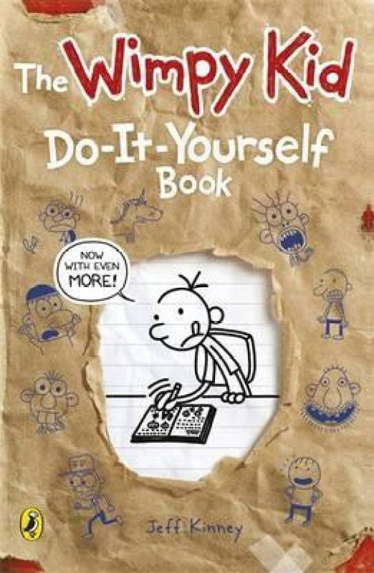 The Wimpy Kid Do -It- Yourself Book