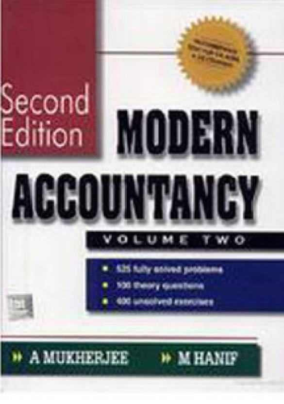Modern Accountancy (Volume - 2) 2nd  Edition