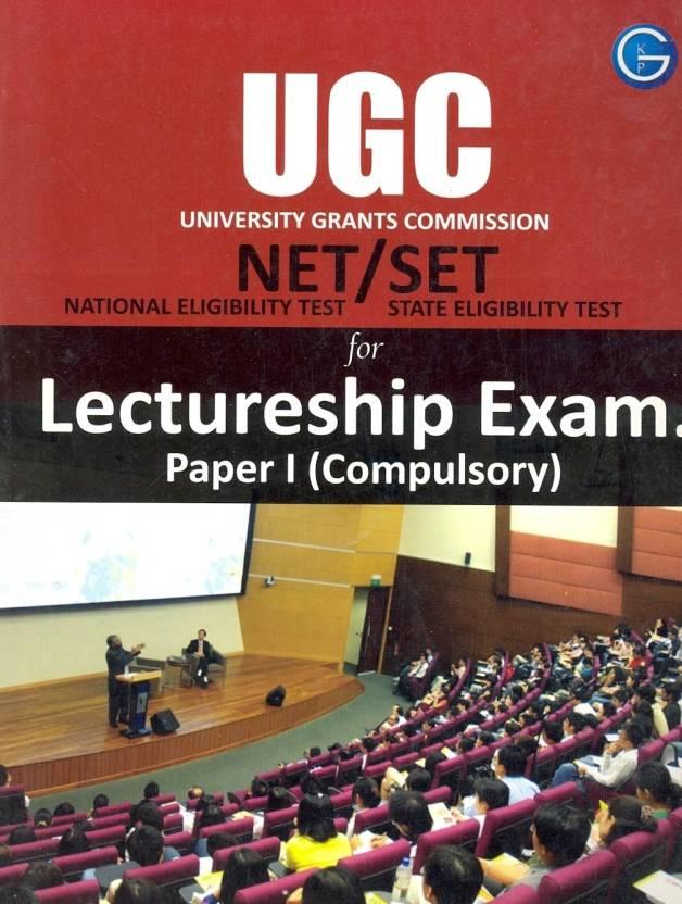UGC NET/SET Lectureship Exam. (Paper-1 Compulsory) PB