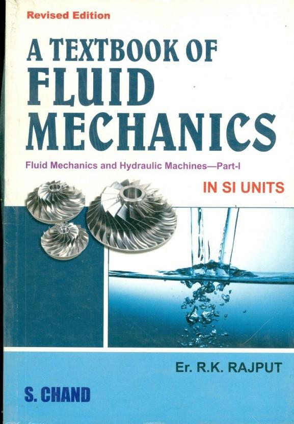 Fluid Mechanics Hydraulic Machines Book
