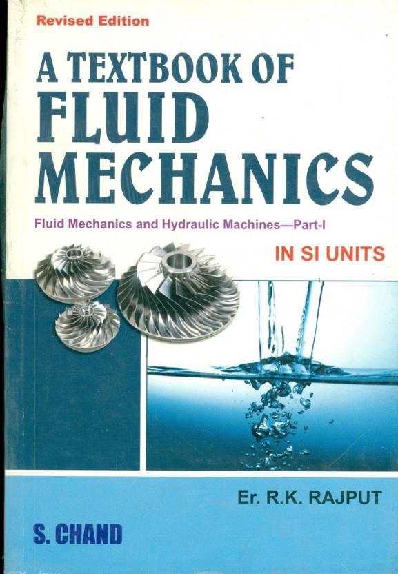 fluid mechanics by rk ragput