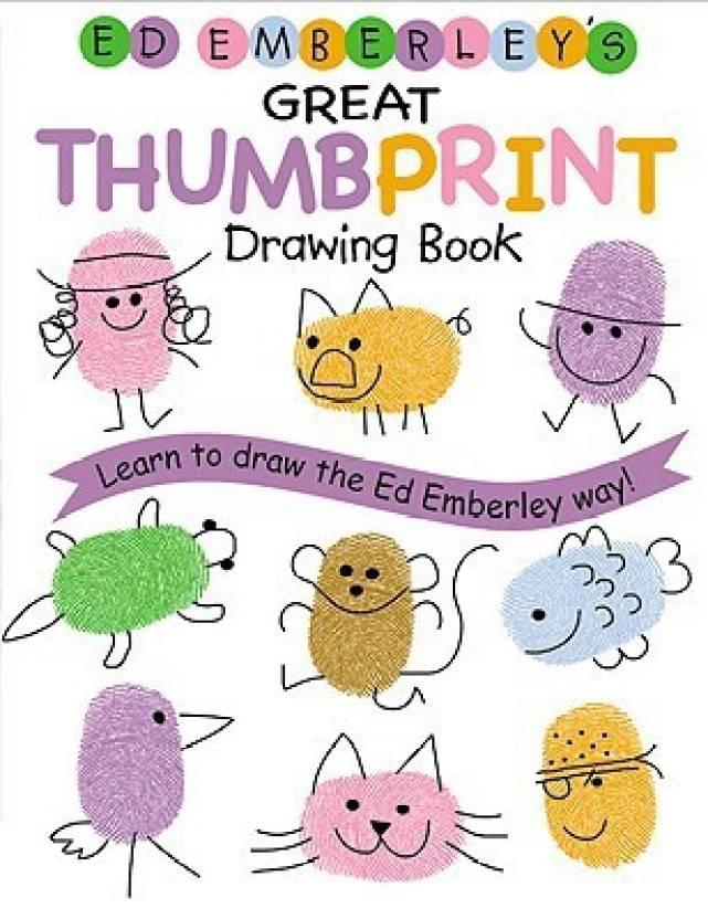 Ed Emberley's Great Thumbprint Drawing Book (Turtleback