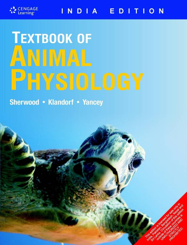 Textbook of Animal Physiology 1st Edition - Buy Textbook of Animal ...