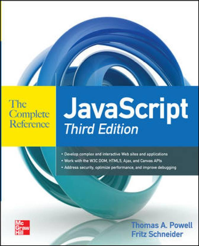 Javascript: The Complete Reference 3rd  Edition