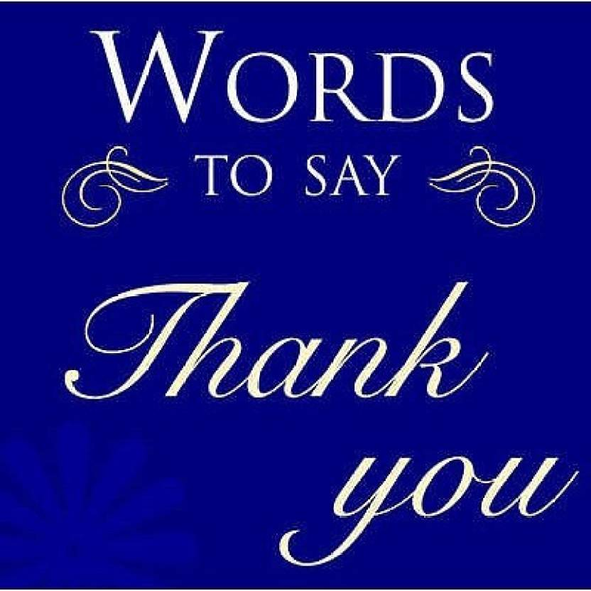 words to say thank you buy words to say thank you by hoggett