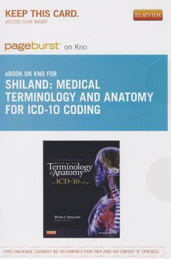 Medical Terminology and Anatomy for ICD-10 Coding Access Code - Buy ...