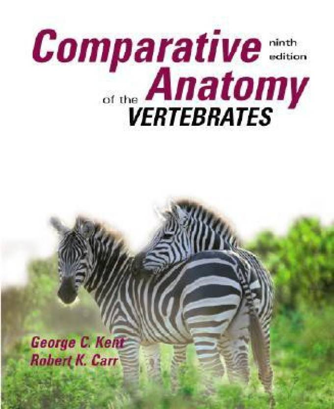 Comparative Anatomy of the Vertebrates 9th Edition - Buy Comparative ...