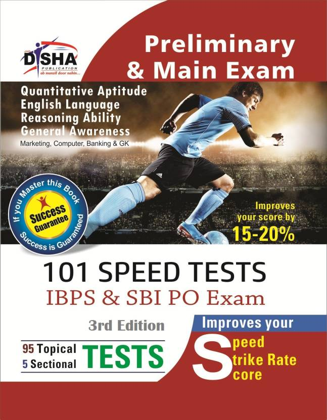 101 Speed Tests for IBPS & SBI Bank PO Exam 3rd Edition 3 Edition