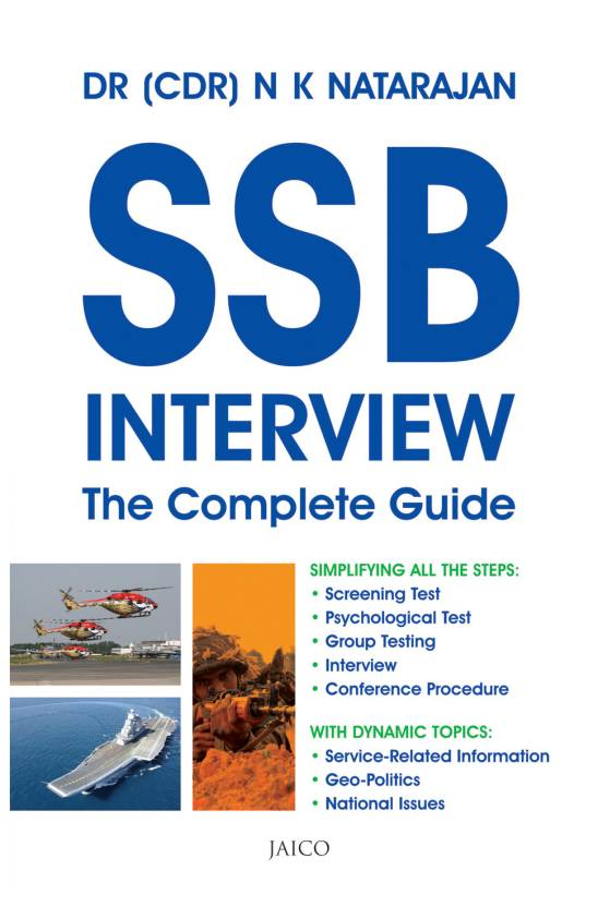 SSB Interview : The Complete Guide  (English, Paperback, N. K. Natarajan)