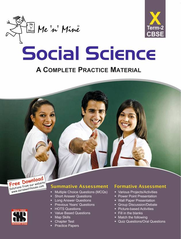Me 'n' Mine - Social Science : A Complete Practice Material (Class