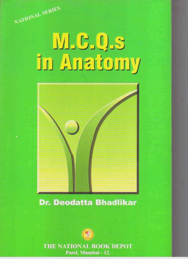 MCQS IN ANATOMY - Buy MCQS IN ANATOMY by BHADLIKAR Online at Best ...