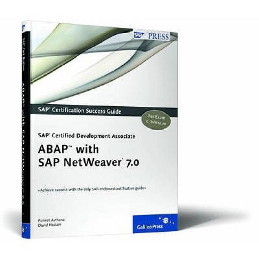 Sap Certified Development Associate Abap With Sap Netweaver 70
