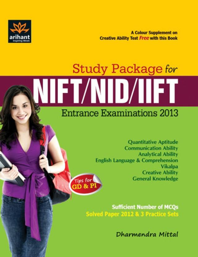 nift nid iift entrance exam guide 01 edition buy nift nid rh flipkart com