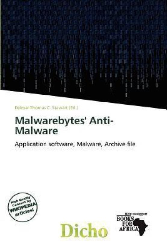 Malwarebytes' Anti-Malware: Buy Malwarebytes' Anti-Malware by Delmar