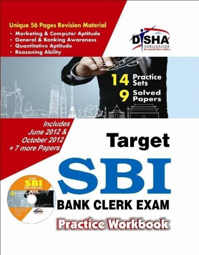 Target SBI Clerk Exam - 9 Solved + 14 practice Sets (3rd English edition) Practice Workbook with Sync-able CD : 9 Solved Papers, 14 Practice Sets 3rd Edition