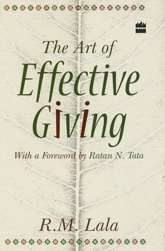THE ART OF EFFECTIVE GIVING