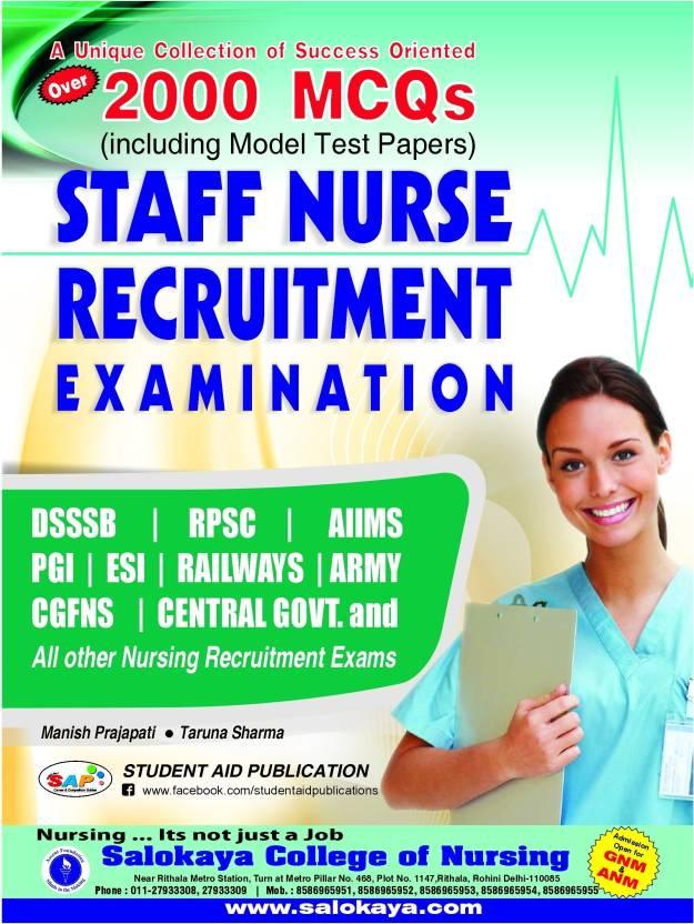 Staff Nurse Recruitment Exam: Buy Staff Nurse Recruitment Exam by
