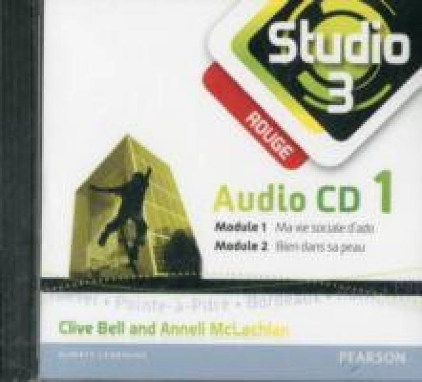 Studio 3 Rouge Audio CDs (pack of 3) (11-14 French): Buy