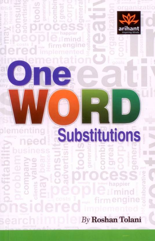 One Word Substitutions  Buy One Word Substitutions by Tolani R at ... d446b6ceb