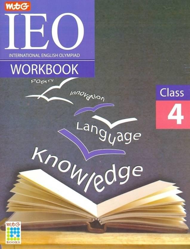 MTG International English Olympiad Work Book Class 4