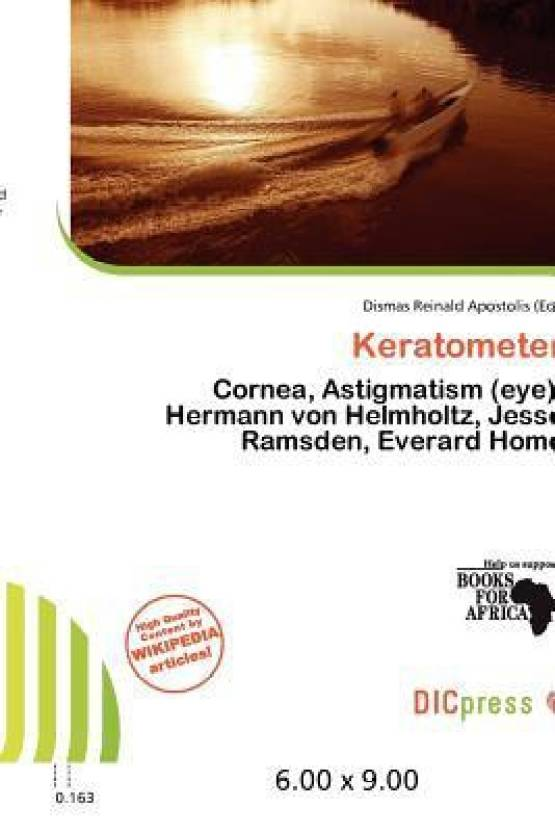 Keratometer: Buy Keratometer by Dismas Reinald Apostolis at Low
