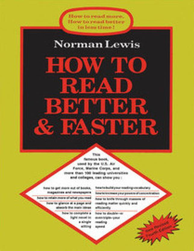 How to read better faster 4th edition buy how to read better how to read better faster 4th edition fandeluxe Image collections
