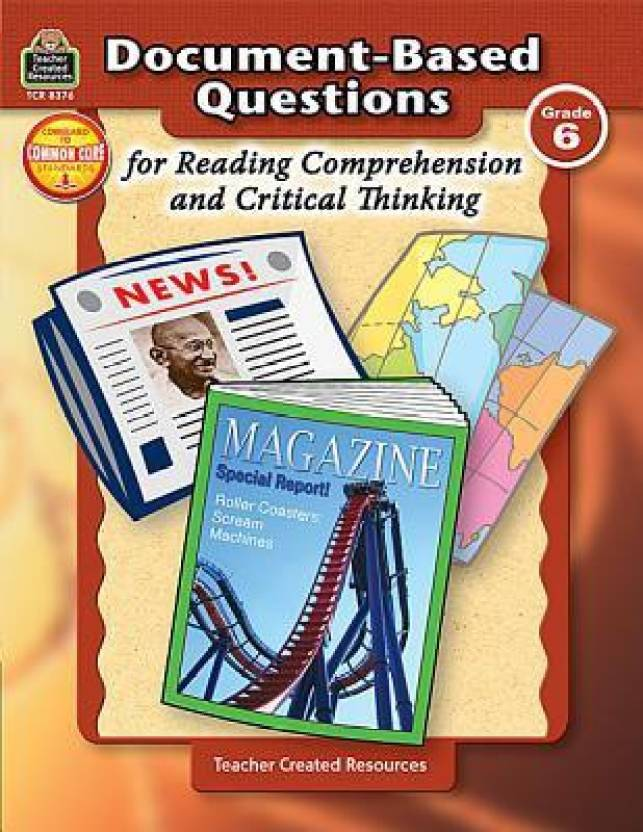 comprehension and critical thinking grade 6 comprehension critical thinking