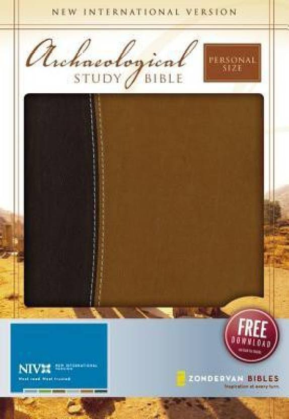 Archaeological Study Bible-NIV-Personal Size: An Illustrated Walk