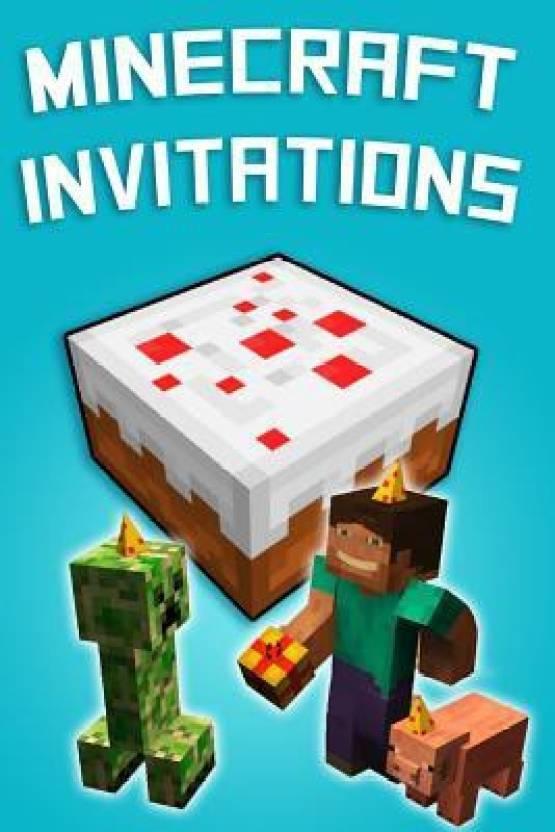 minecraft invitations buy minecraft invitations by handbooks