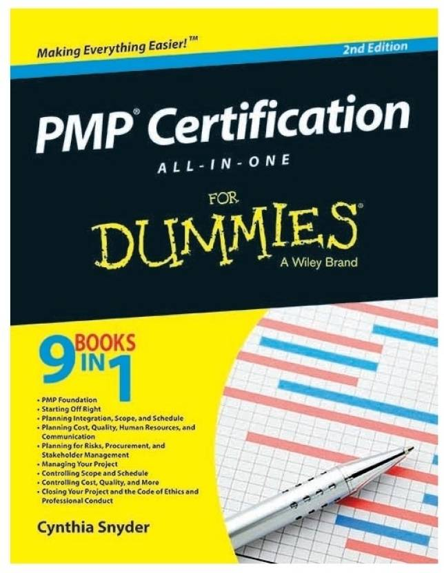 Pmp Certification For Dummies Buy Pmp Certification For Dummies By