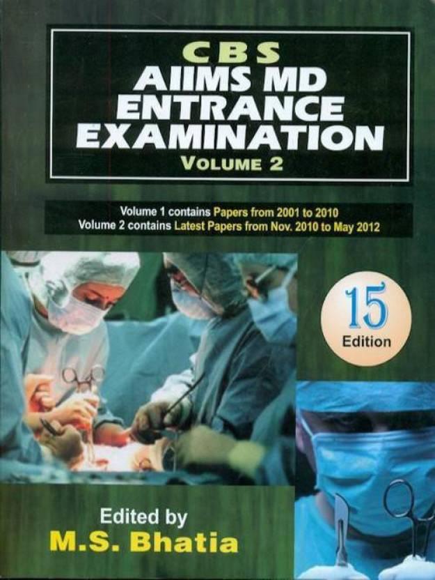 CBS AIIMS MD Entrance Examination (Volume - 2) 15th Edition